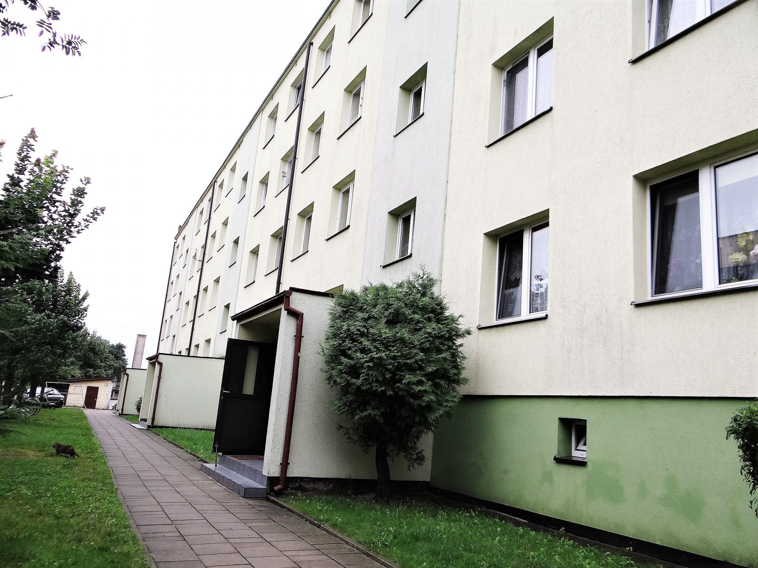 Michałowo – 2 pok. mieszkanie w bloku na parterze
